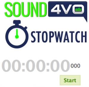 Sound4VO-Stopwatch