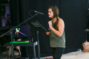 VO student performs